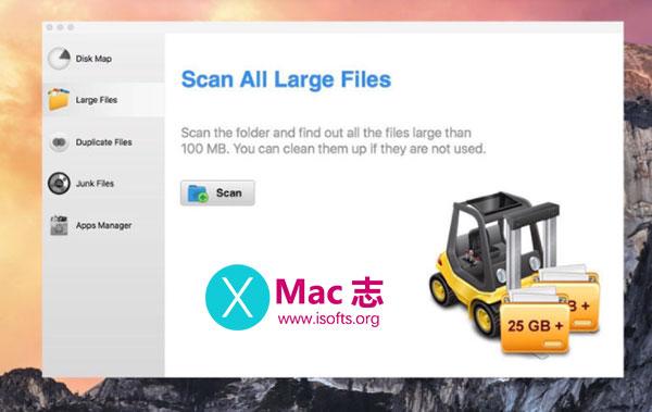 [Mac]磁盘文件占用情况查看工具 : FastScanner Pro