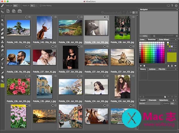 [Mac]图像编辑处理工具 : AliveColors
