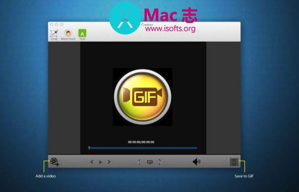 [Mac]专业的GIF动画制作工具 :GIF制作大师GIF Creator