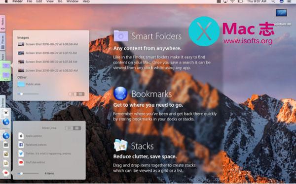 [Mac]增强型Dock资源管理器 : DockShelf