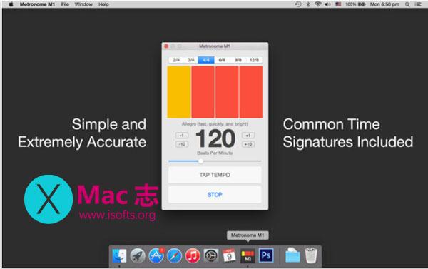[Mac]音乐节拍器 : Metronome M1
