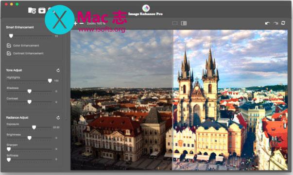 [Mac]照片增强优化工具 : Image Enhance Pro