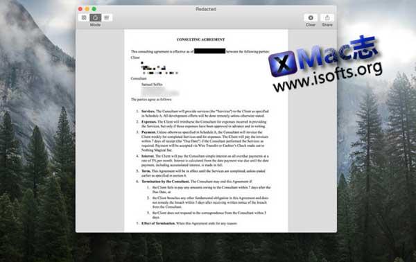 [Mac]图片马赛克工具 : Redacted