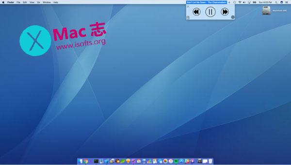 [Mac]音乐播放控制软件 : Song Bar