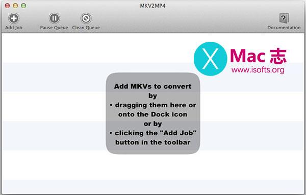 [Mac]快速高效的MKV转MP4格式转换工具 : MKV2MP4