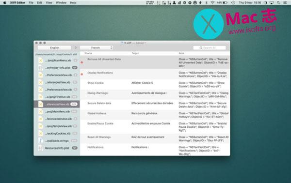 [Mac] Xliff格式文件编辑器 : Xliff Editor
