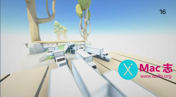 [Mac]卡车跑酷Clustertruck : 跑酷游戏