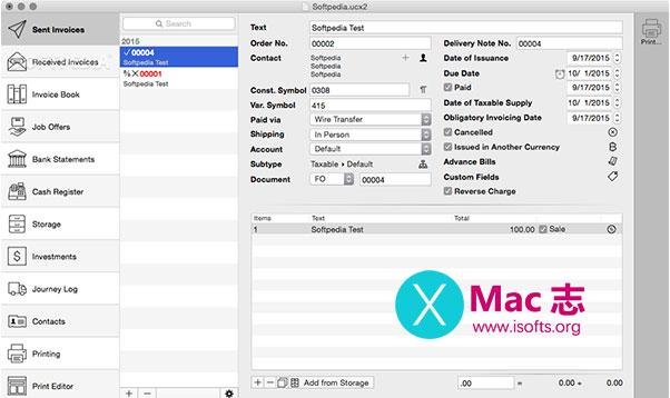 [Mac]财务管理软件 : UctoX