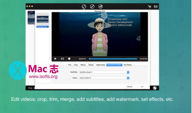 [Mac]视频格式转换工具 : iFunia Video-Converter