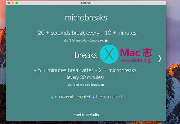 [Mac]定时休息提醒软件 : Stretchly