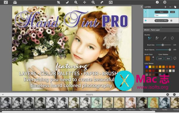 [Mac]将照片转换成手绘画效果的工具: Hand Tint Pro