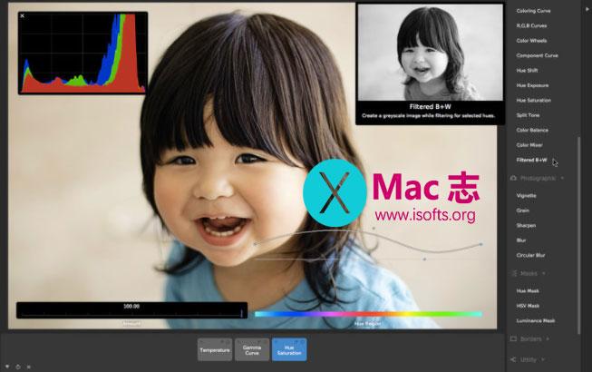 [Mac]照片编辑与处理工具 : CameraBag RAW