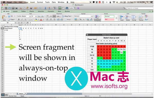 [Mac]将窗口的指定部分内容置顶显示 : Screen Cutter