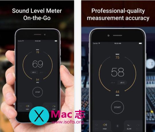 [iPhone/iPad]声级测量工具 : dB Decibel Meter