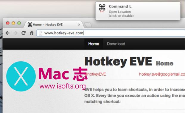 [Mac]快捷键提示工具 : Hotkey EVE