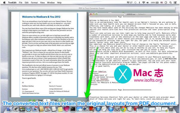 [Mac] PDF转文字工具 : PDF to Text Converter Expert