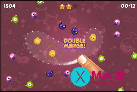 [iPhone]益智类小游戏 : 真菌融合(Merge)