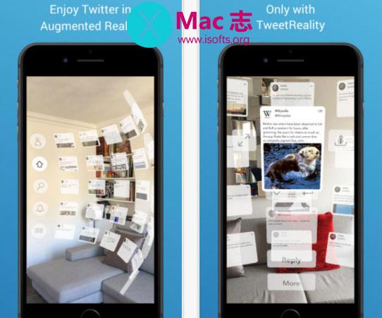 [iPhone/iPad] AR版Twitter客户端 : TweetReality