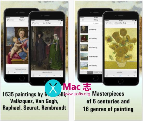 [iPhone/iPad]高清伦敦国家美术馆-National Gallery, London HD