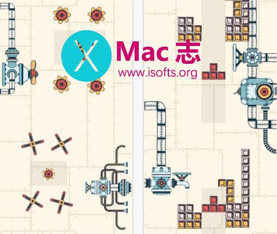 [iPhone/iPad] Steampunk Puzzle Physics Game(蒸汽朋克谜题) : 物理解谜游戏