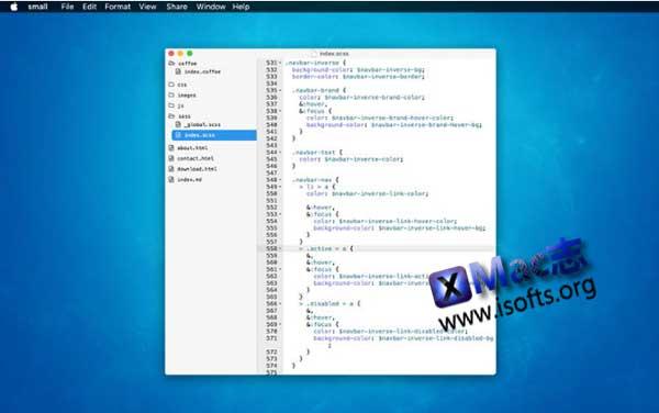 [Mac]轻量级的代码编辑器 : Syntra Small