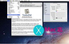 [Mac]强大的笔记软件 : VoodooPad