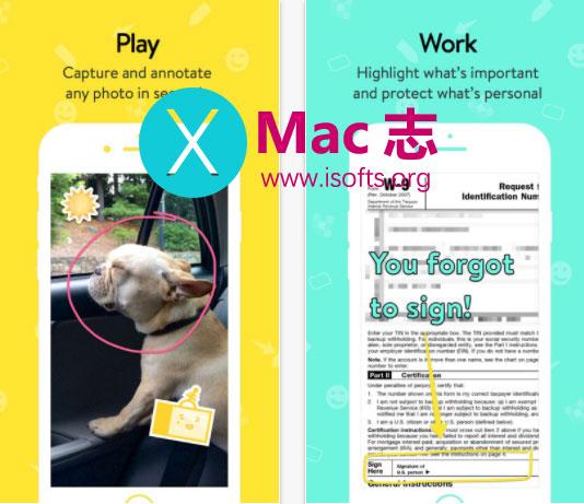 [iPhone/iPad]图片添加形状和文字标注的工具 : Annotate