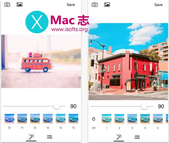 [iPhone]旅行照片滤镜处理工具 : Groovy Film