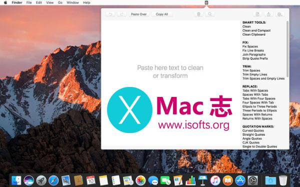 [Mac]减少文本清理和编辑时间 :Clean Text Menu