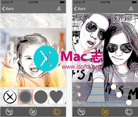 [iPhone/iPad]照片转素描卡通画工具 : Sketch Me!