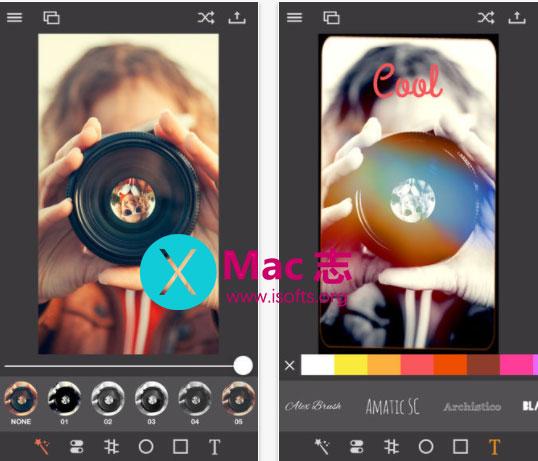 [iPhone/iPad]照片特效处理工具 : Pixagram