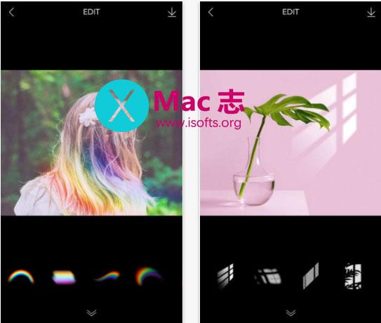 [iPhone]图像特效处理工具 : Scenty Lily 莉莉的周末