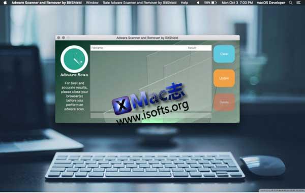 [Mac]流氓广告弹窗广告去除工具 : Adware Scanner and Remover