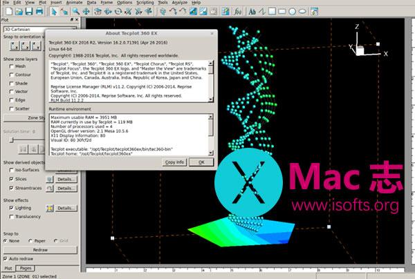 [Mac]先进的工程科学绘图软件 : Tecplot Focus
