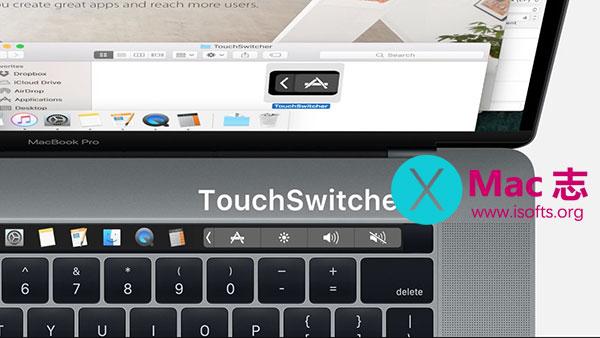 [Mac]用Touch Bar来实现应用程序切换的工具 : TouchSwitcher