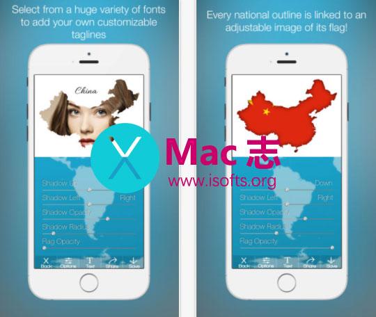 [iPhone/iPad]将照片整合在国家地图上的图像处理工具 : Photos in Maps