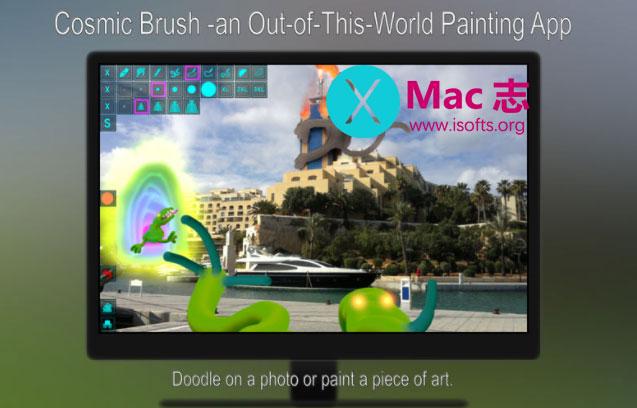 [Mac]涂鸦绘画软件 : Cosmic Brush