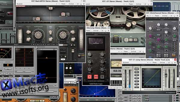 [Mac]音频效果器插件 : Waves Complete