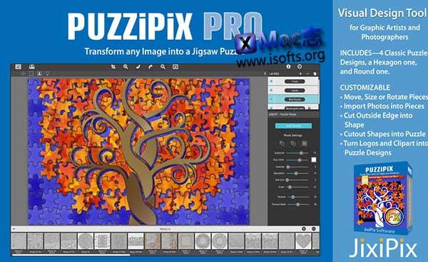 [Mac]图片快速制作出益智拼图 : PuzziPix Pro