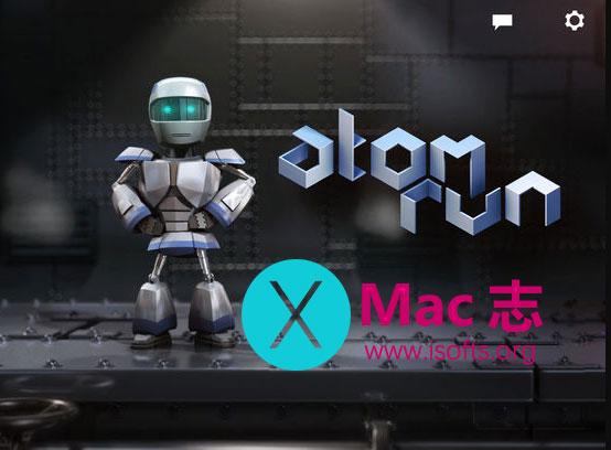 [iPhone/iPad]未来主义复古式平台游戏 : Atom Run