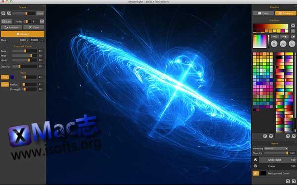 [Mac]特效图及特效动画制作工具 : Amberlight
