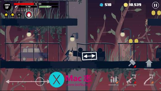 [iPhone/iPad]横版RPG冒险游戏 :Dead Rain(新的僵尸病毒)