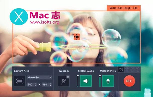 [Mac]屏幕录像软件 : Movavi Screen Recorder
