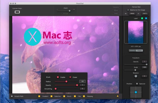 [Mac]图像编辑处理工具 : PhotoChef