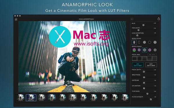 [Mac]照片编辑处理工具 : Anamorphic Pro