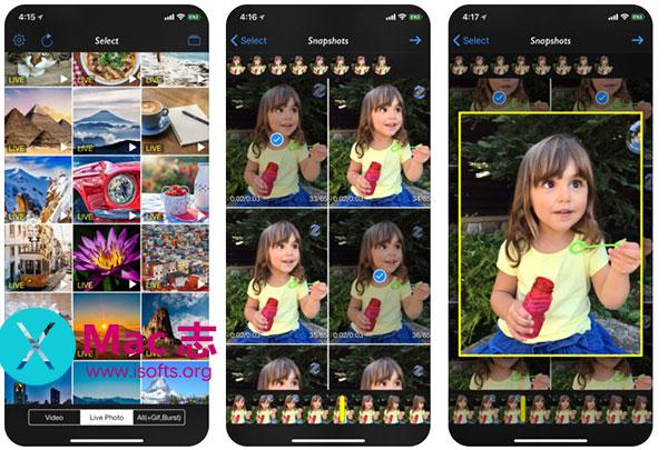 [iPhone/iPad]从所有媒体中提取静态照片的工具 :Live 2 Still Photos