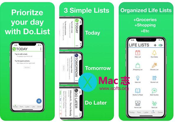 [iPhone/iPad]待办事项清单管理工具 : Do.List