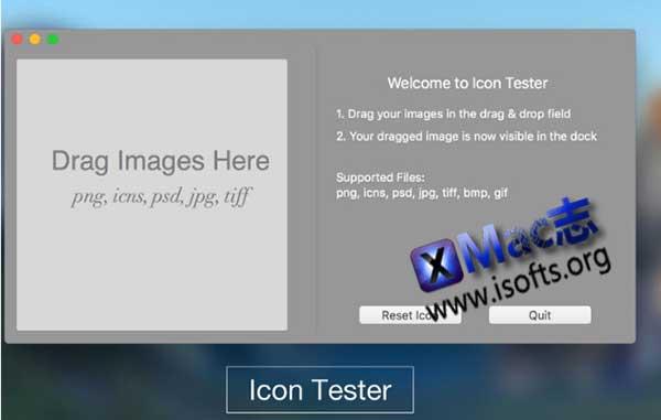[Mac]图标测试软件 : Icon Tester