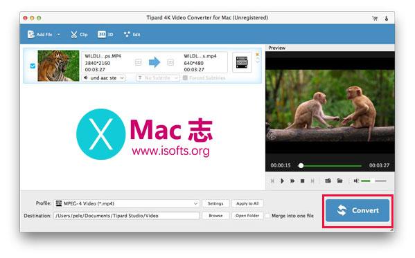 [Mac] 4K高清视频转换工具 : Tipard 4K Video Converter