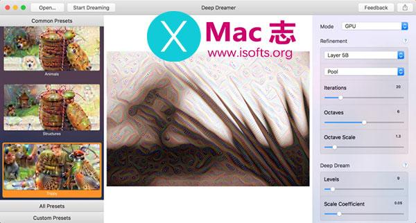 [Mac]超现实主义色彩的梦呓图片制作工具 :Deep Dreamer